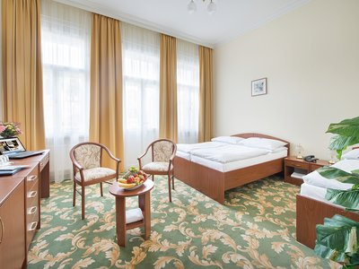 EA Hotel Elefant*** - triple Room